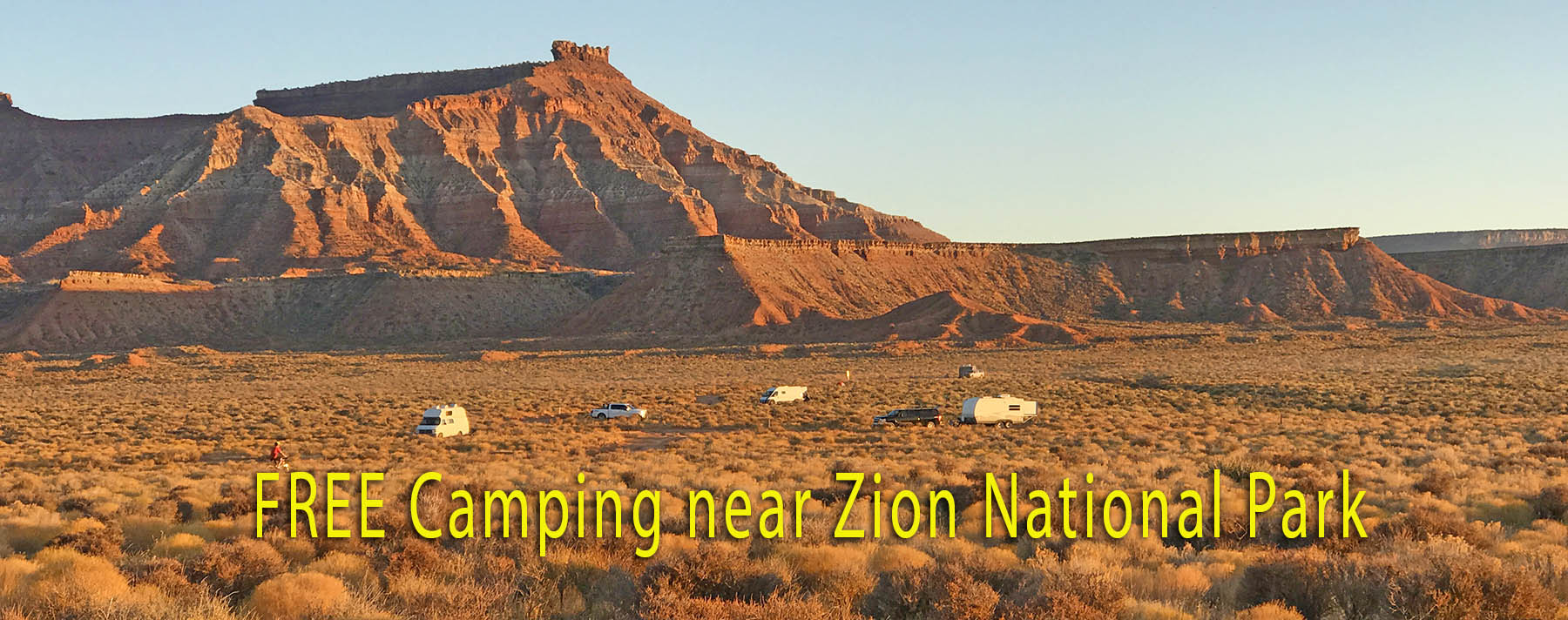 Free Camping Zion National Park