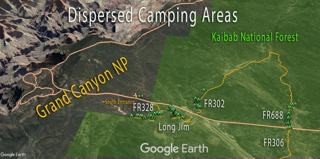 Grand Canyon Dispersed Campinge