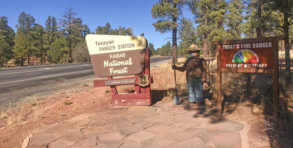 Kaibab NF Sign - Grand Canyon