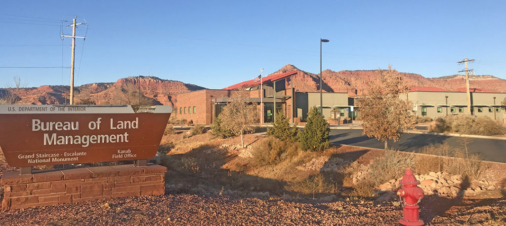 Zion East BLM Kanab Office