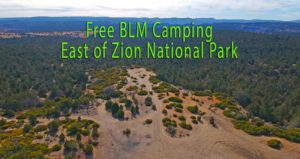 Zion East Dispersed FREE Camping