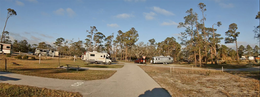 Ft Pickens Campground Loop C